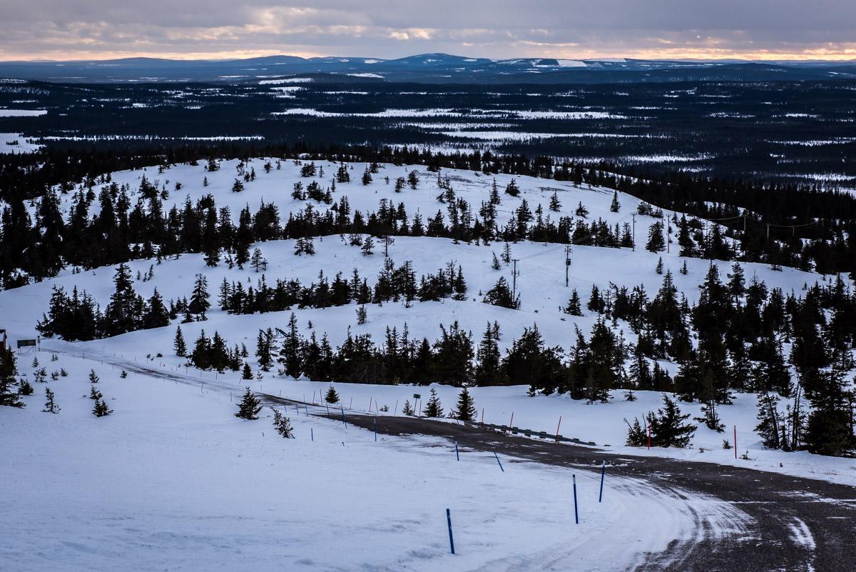 Schwedisch Lappland im Winter