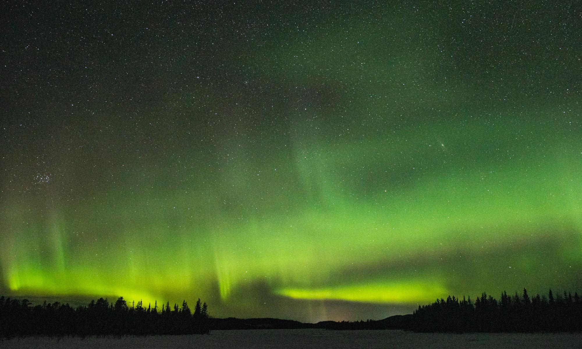 Nordlichter in Schwedisch Lappland