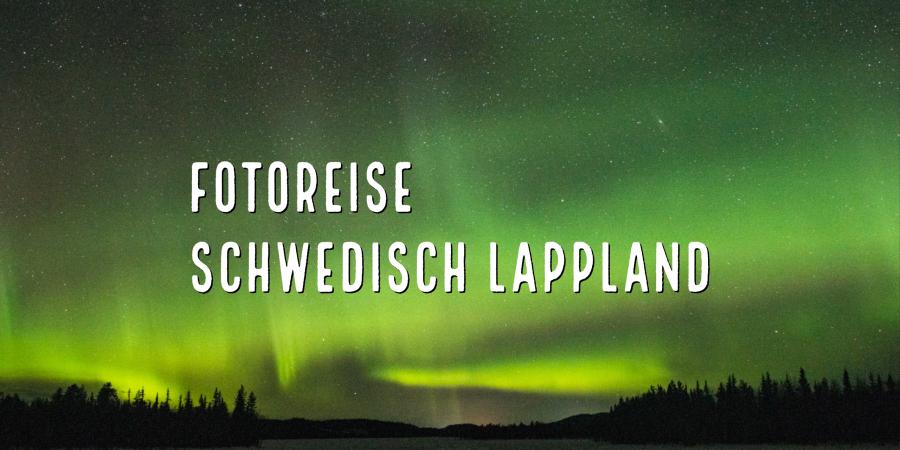 Aurora borealis – Nordlichter in Schwedisch Lappland