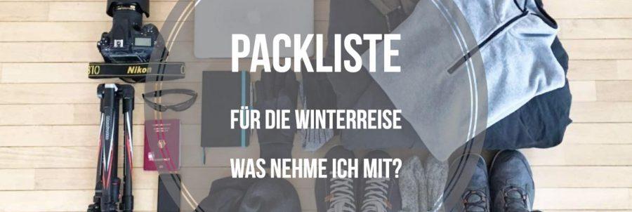 Packliste für die Winterreise. Was nehme ich mit?