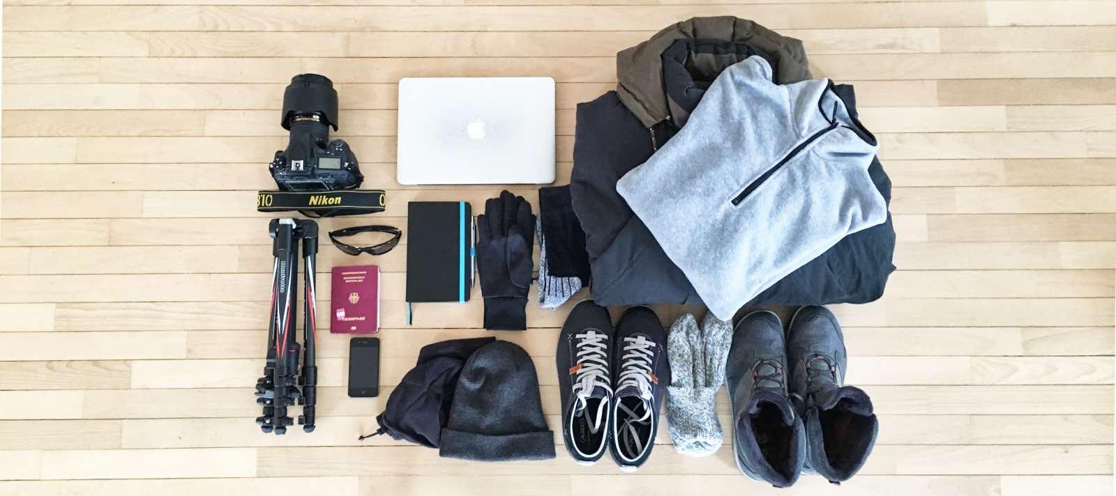 Packliste für die Winterreise nach Schweden